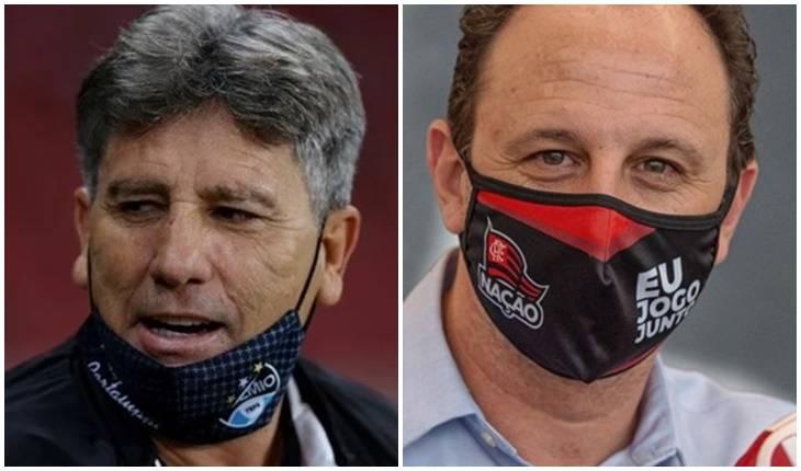 Lucas Uebel/Grêmio / Alexandre Vidal/Flamengo