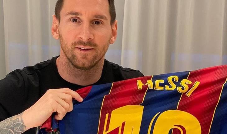 Reprodução Instagram/ Leo Messi