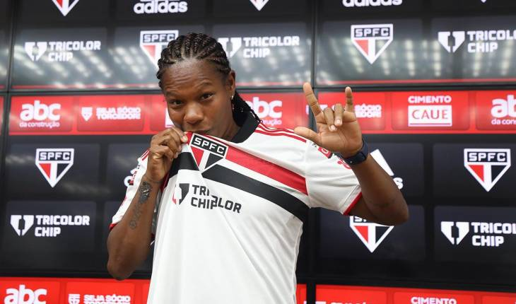 Reprodução Twitter/São Paulo FC