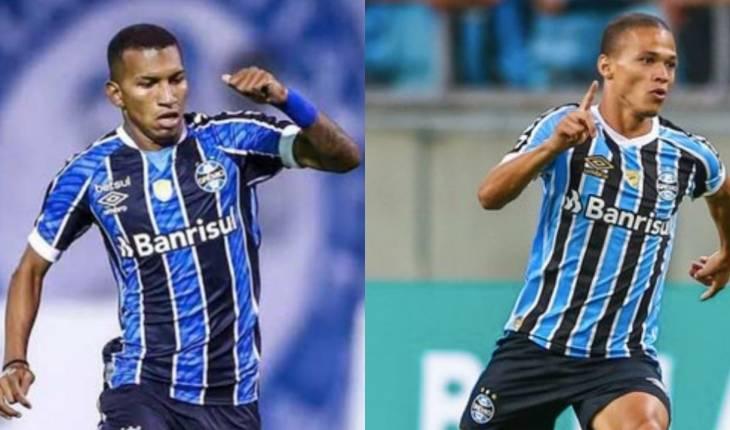 (Divulgação/Lucas Uebel/Grêmio/Fotomontagem/Mateus Guimarães)