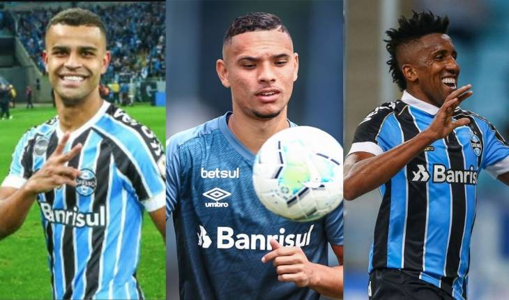 Foto: Lucas Uebel/Grêmio/Fotomontagem/Mateus Guimarães