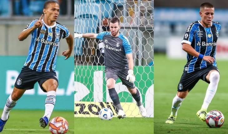 (Lucas Uebel/Grêmio/Fotomontagem/Mateus Guimarães)