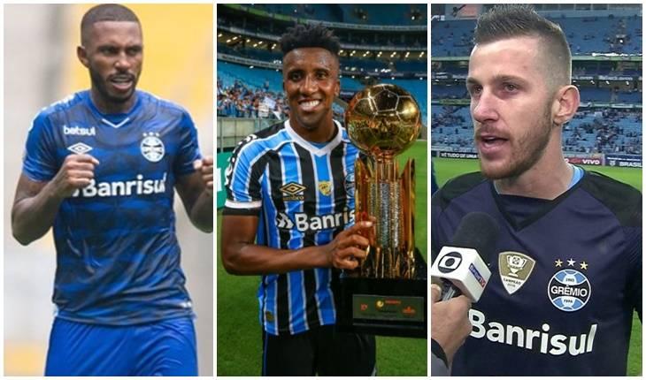 Instagram Paulo Miranda / Lucas Uebel/Grêmio / Reprodução Globo