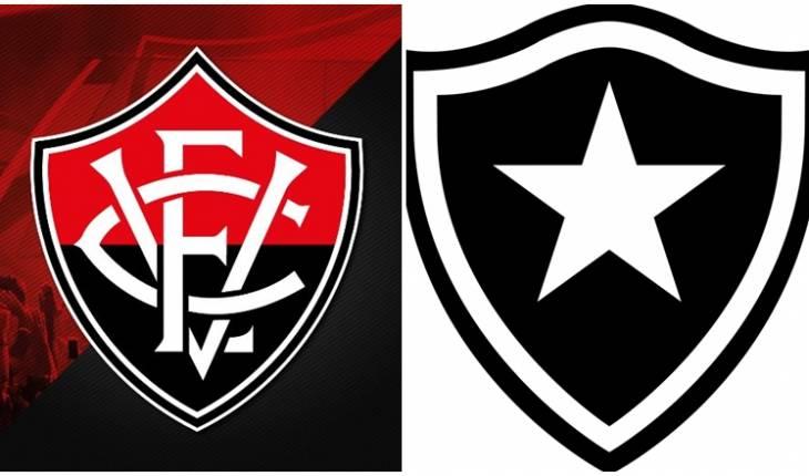 Reprodução - Montagem | Vitória - Botafogo