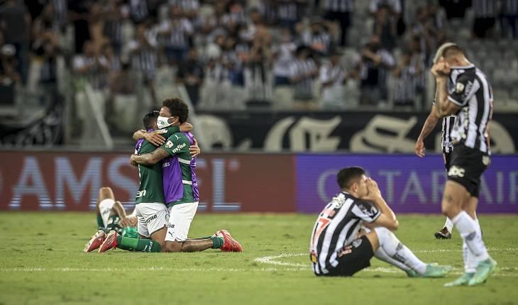 Reprodução Twitter Palmeiras / Staff Images Conmebol
