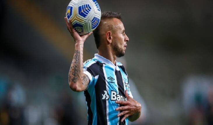 Digulgação/Lucas Uebel + Instagram oficial do Grêmio