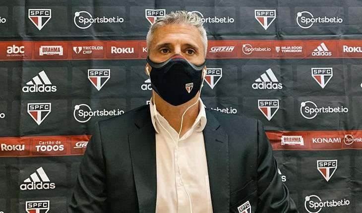 Reprodução/Twitter São Paulo FC