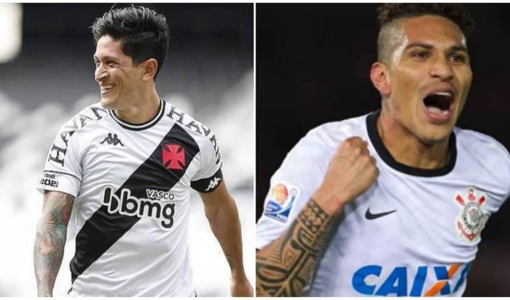 Rafael Ribeiro/Divulgação Instagram Oficial do Vasco da Gama - Daniel Augusto/Agência Corinthians