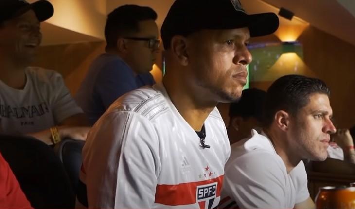 Radar Esporte/ SPFC TV-Luís Fabiano