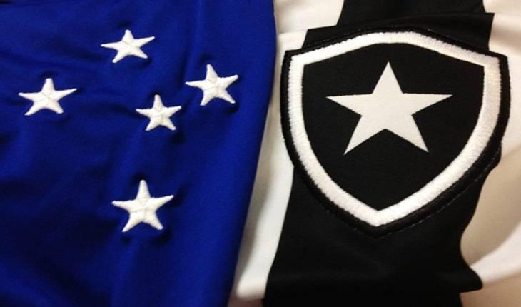 Reprodução - Bandeira Cruzeiro e Botafogo