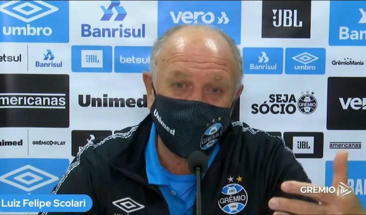 Reprodução/Grêmio TV